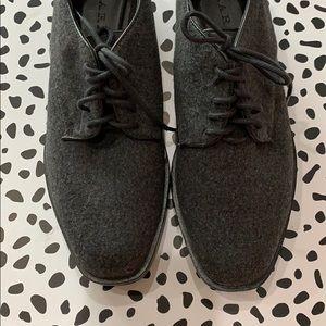 Zara Shoes - Zara Chunky Heeled Lace Up Oxfords